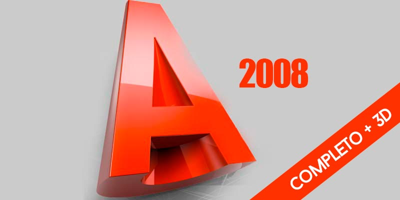 Autocad 2008 Completo + 3D
