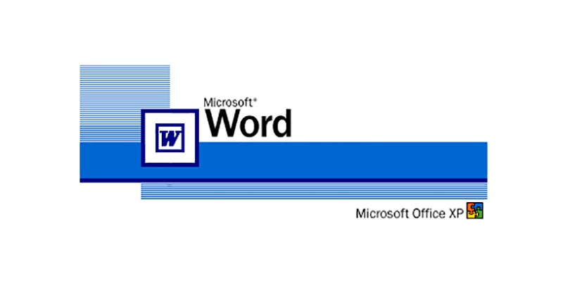 Microsoft Word XP (2002)