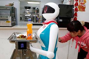 trabajo de los robots